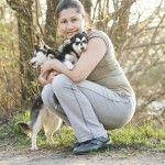 Фото с щенятам кли кая